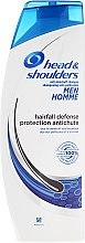 Парфюмерия и Козметика Шампоан против косопад - Head & Shoulders Hairfall Defense Shampoo