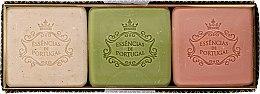 Парфюмерия и Козметика Комплект сапуни - Essencias De Portugal Aromas Collection Winter Set (soap/3x80g)