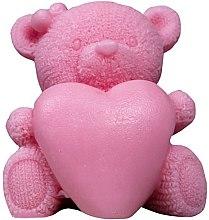 """Парфюми, Парфюмерия, козметика Ръчно изработен натурален сапун """"Мече със сърце"""" - LaQ Happy Soaps Natural Soap"""