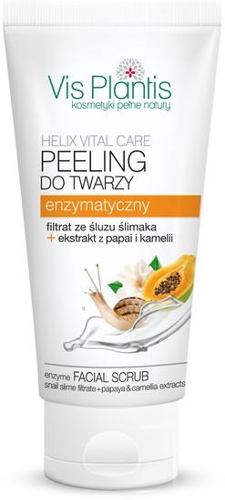Почистващ скраб за лице - Vis Plantis Helix Vital Care Enzyme Facial Scrub — снимка N1