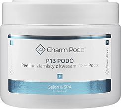 Парфюмерия и Козметика Гранулен пилинг за стъпала с 18% киселини - Charmine Rose Charm Podo P13
