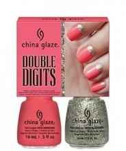 Парфюми, Парфюмерия, козметика Комплект лакове - China Glaze Double Digits Pink