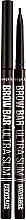 Парфюмерия и Козметика Молив за вежди - Luxvisage Brow Bar Ultra Slim