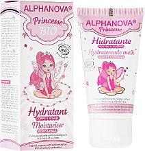 Парфюмерия и Козметика Детски хидратиращ крем за лице и тяло - Alphanova Kids Princess Moisturiser Body & Face