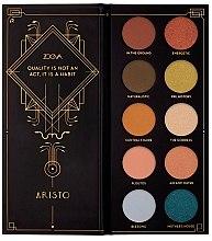 Парфюмерия и Козметика Палитра сенки за очи - Zoeva Aristo Eyeshadow Palette