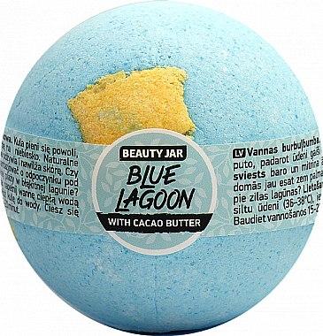 Бомбичка за вана с какаово масло - Beauty Jar Blue Lagoon — снимка N1