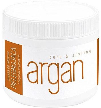 Маска за коса с арганово масло - Caring Hair Mask With Argan Oil — снимка N1