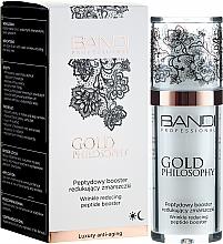 Парфюмерия и Козметика Бустер за лице против бръчки с пептиден комплекс - Bandi Professional Gold Philosophy Wrinkle Reducing Peptide Booster