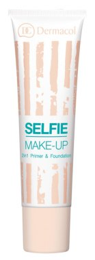 Основа и фон дьо тен 2 в 1 - Dermacol Selfie Make-up 2-in-1 Primer & Foundation