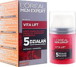 Парфюмерия и Козметика Хидратиращ крем против бръчки за мъже - L'Oreal Paris Men Expert