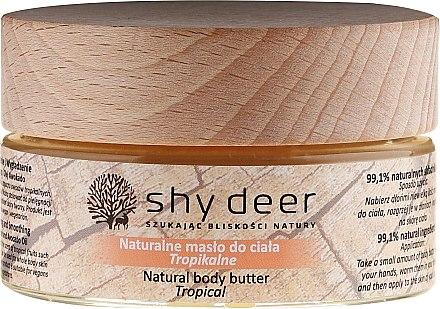 Масло за тяло - Shy Deer Natural Body Butter — снимка N1