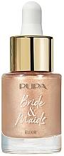 Парфюмерия и Козметика Озаряваща серум-основа за лице - Pupa Bride & Maids Elixir