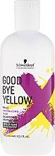 Парфюмерия и Козметика Безсулфатен шампоан против жълти оттенъци - Schwarzkopf Professional Goodbye Yellow Neutralizing Shampoo