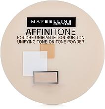 Пудра за лице - Maybelline Affinitone Powder — снимка N2