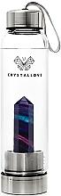 Парфюмерия и Козметика Бутилка с кристал от флуорит дъга, 550мл - Crystallove