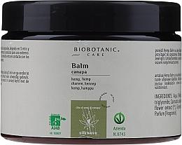 Парфюмерия и Козметика Балсам за коса с масло от коноп - BioBotanic Silk Wave Hemp Balm