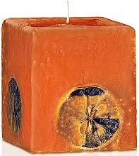 "Парфюми, Парфюмерия, козметика Ароматна свещ ""Портокал и шоколад"" - Bulgarian Rose"