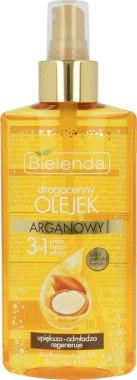 Арганово масло 3в1 за тяло, лице и коса - Bielenda Drogocenny Olejek — снимка N1