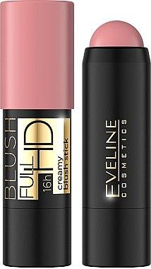 Кремообразен руж-стик - Eveline Cosmetics Full HD Creamy Blush Stick — снимка N1