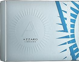 Парфюмерия и Козметика Azzaro Chrome - Комплект (edt/50ml + deo/75ml)