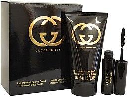 Парфюми, Парфюмерия, козметика Gucci Guilty - Комплект (mascara/2,75ml + b/lot/50ml)