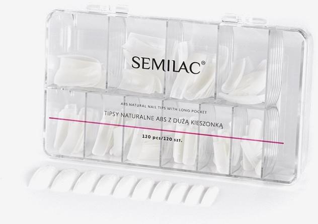 Изкуствени нокти - Semilac Natural Tips Box