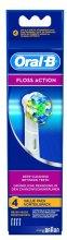 Парфюмерия и Козметика Сменяеми приставки за електрическа четка за зъби Floss Action EB 25, 4 бр - Oral-B