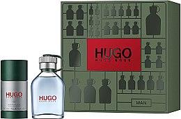 Парфюмерия и Козметика Hugo Boss Hugo Men - Комплект (тоал. вода/75ml + део/75ml)