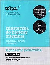 Парфюмерия и Козметика Кърпички за интимна хигиена успокояващи 1 бр - Tolpa Intima