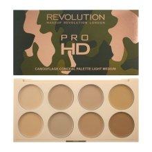 Парфюми, Парфюмерия, козметика Кремообразни палитра за контуриране - Makeup Revolution Ultra Pro HD Camouflage