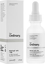 Парфюмерия и Козметика Пептиден серум за лице с хиалуронова киселина - The Ordinary Matrixyl 10% + HA