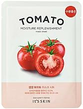 Парфюмерия и Козметика Памучна маска за лице с домат - It's Skin The Fresh Mask Sheet Tomato