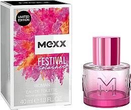 Парфюми, Парфюмерия, козметика Mexx Festival Splashes - Тоалетна вода