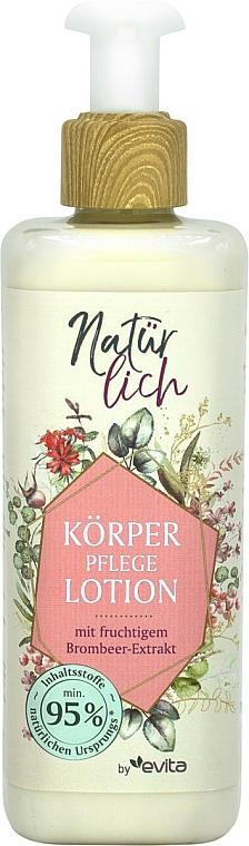 Лосион за тяло с екстракт от къпина - Evita Naturlich Eco Lotion