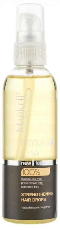 Капки за укрепване на косата - Markell Cosmetics Natural Line