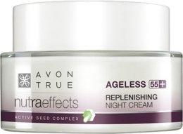 Парфюми, Парфюмерия, козметика Укрепващ нощен крем за лице - Avon Nutraeffects Replenishing Night Cream
