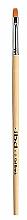 Парфюмерия и Козметика Правоъгълна синтетична четка за гел - IBD Gel Brush №6 Flat