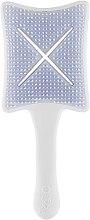 Парфюмерия и Козметика Четка за коса - Ikoo Paddle X Pops Platinum White