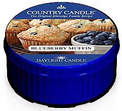 Парфюмерия и Козметика Чаена свещ - Country Candle Blueberry Muffin Daylight