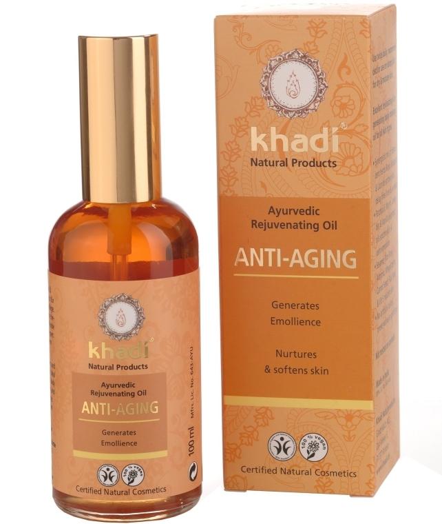 """Масло за лице и тяло """"Anti-Aging"""" - Khadi"""