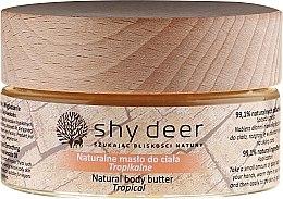 Парфюмерия и Козметика Масло за тяло - Shy Deer Natural Body Butter