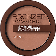 Парфюмерия и Козметика Бронзант - Gabriella Salvete Bronzer Powder SPF15