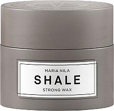 Парфюмерия и Козметика Моделираща вакса за къса коса - Maria Nila Shale Strong Wax