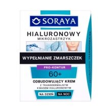Парфюми, Парфюмерия, козметика Възстановяващ крем за лице ден / нощ - Soraya Hialuronowy Mikrozastrzyk Restorative Cream 60+