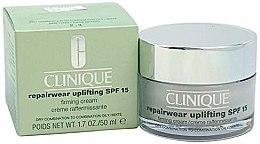 Парфюми, Парфюмерия, козметика Интензивно възстановяващ крем за комбинирана кожа - Clinique Repairwear Uplifting Cream SPF15