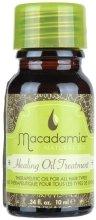 """Парфюми, Парфюмерия, козметика Възстановяващо масло за коса """"Арган и Макадамия"""" - Macadamia Natural Oil Healing Oil Treatment (mini)"""