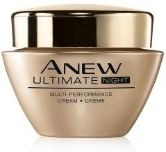 Парфюми, Парфюмерия, козметика Нощен крем за лице - Avon Anew Ultimate Multi-Performance Night Cream