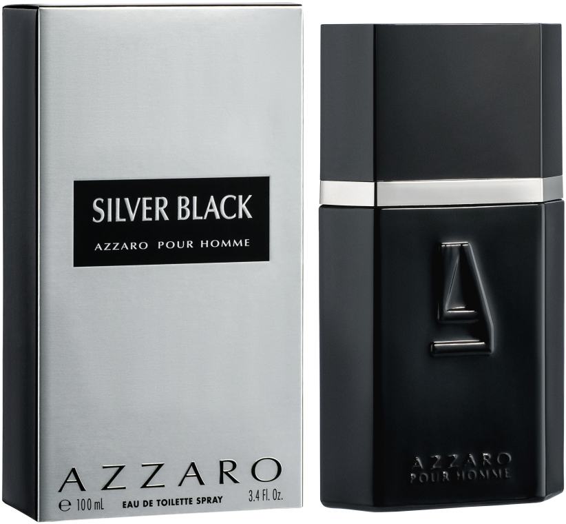 Azzaro Silver Black - Тоалетна вода — снимка N1