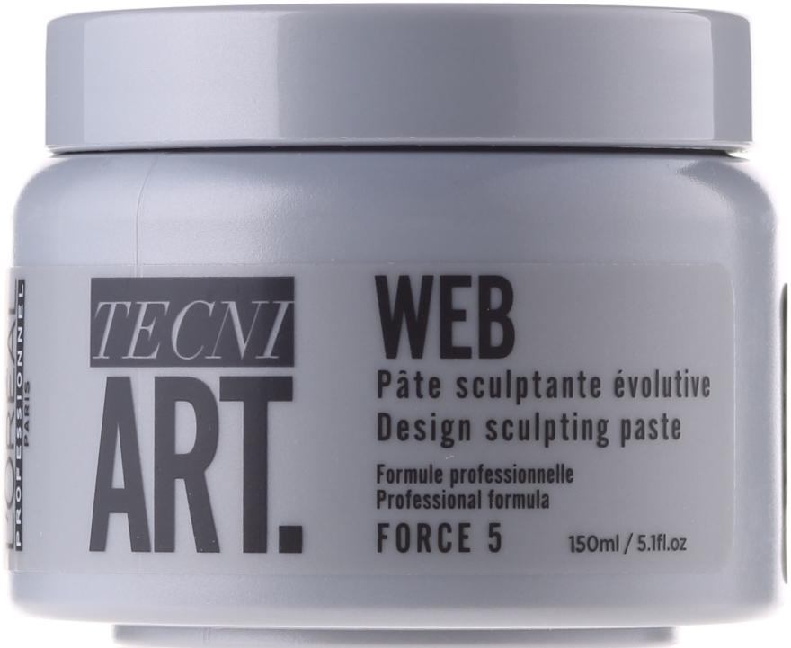 Моделираща паста за коса - L'Oreal Professionnel Tecni.art A-Head Web Force 5 — снимка N1