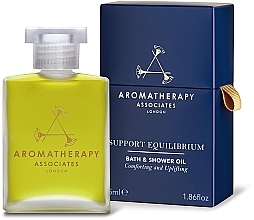 Парфюмерия и Козметика Масло за душ и вана - Aromatherapy Associates Support Equilibrium Bath & Shower Oil